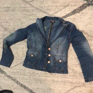 Xoxo jean jacket